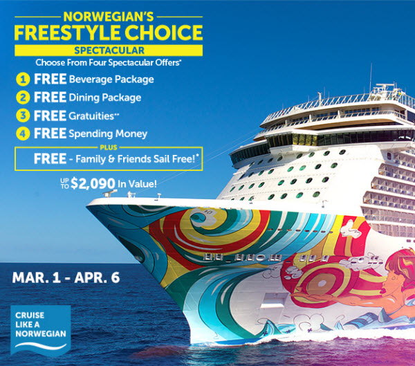 Discover Freestyle Choice Cruising