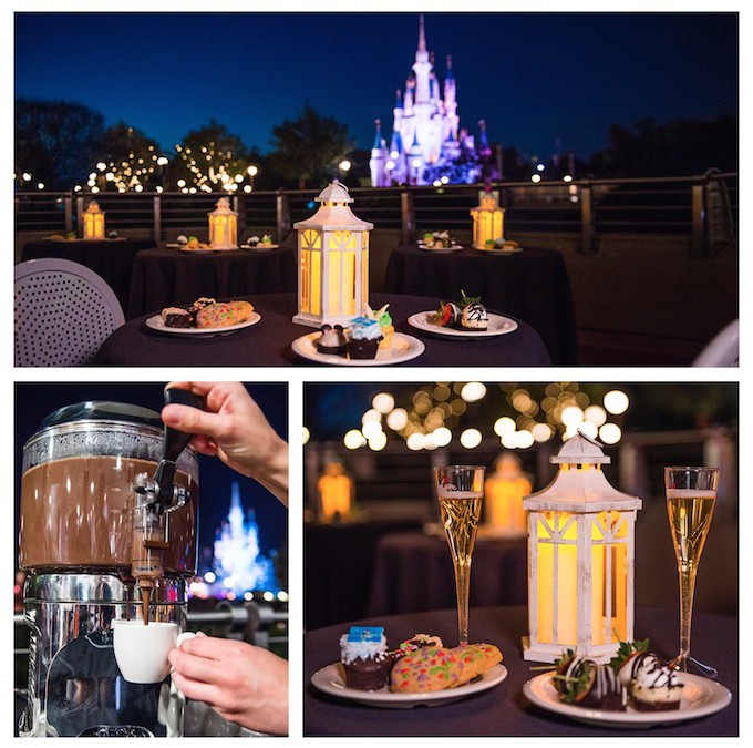 Wishes Fireworks Dessert Party at Magic Kingdom Park